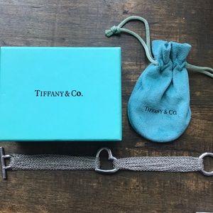 Tiffany & Co multi-chain Heart Bracelet